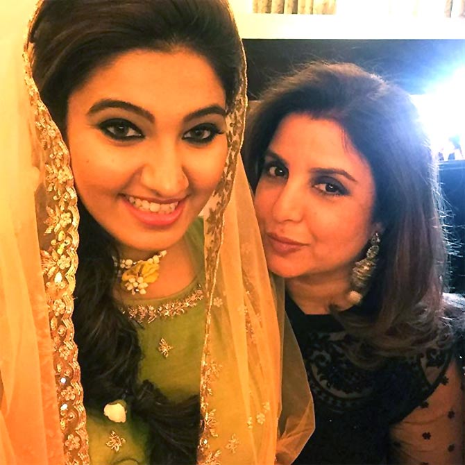 PIX: Parineeti, Farah attend Sania Mirza's sister's sangeet