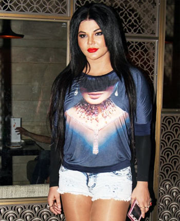 Current Bollywood News & Movies - Indian Movie Reviews, Hindi Music & Gossip - PIX: Rakhi Sawant, Pooja Gor attend ITA party