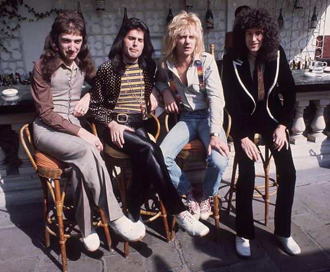 Queen Band Members IMAGE: Freddie ...