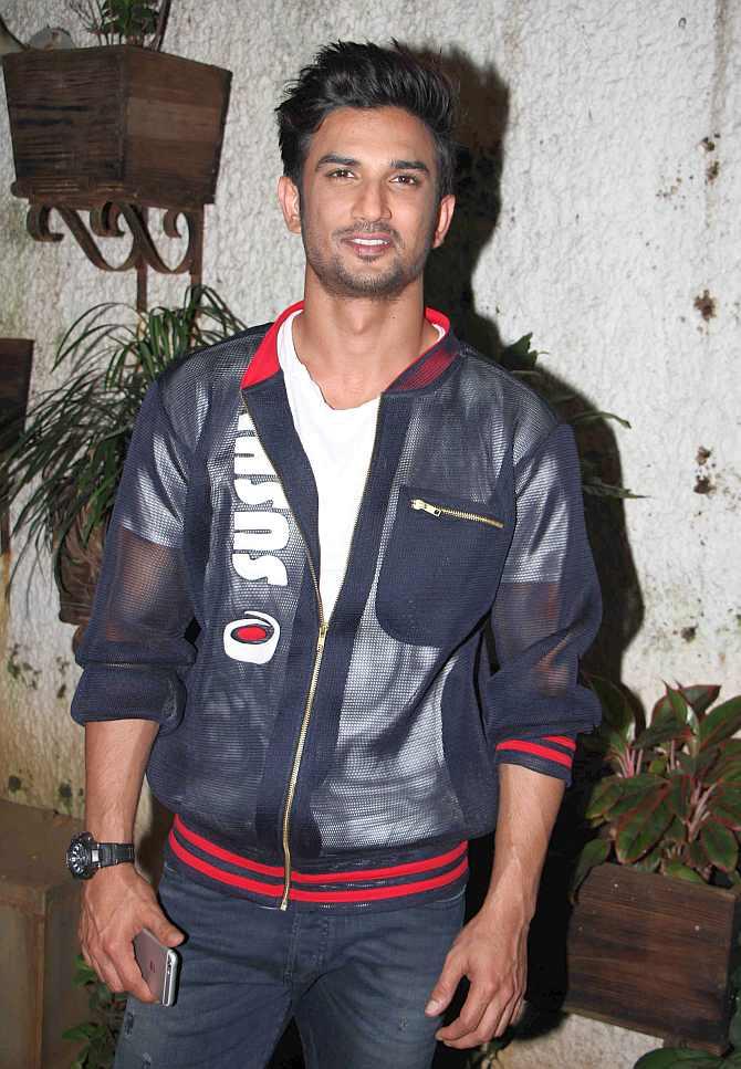 PIX: Kriti, Ayushmann, Sushant Watch MS Dhoni Biopic