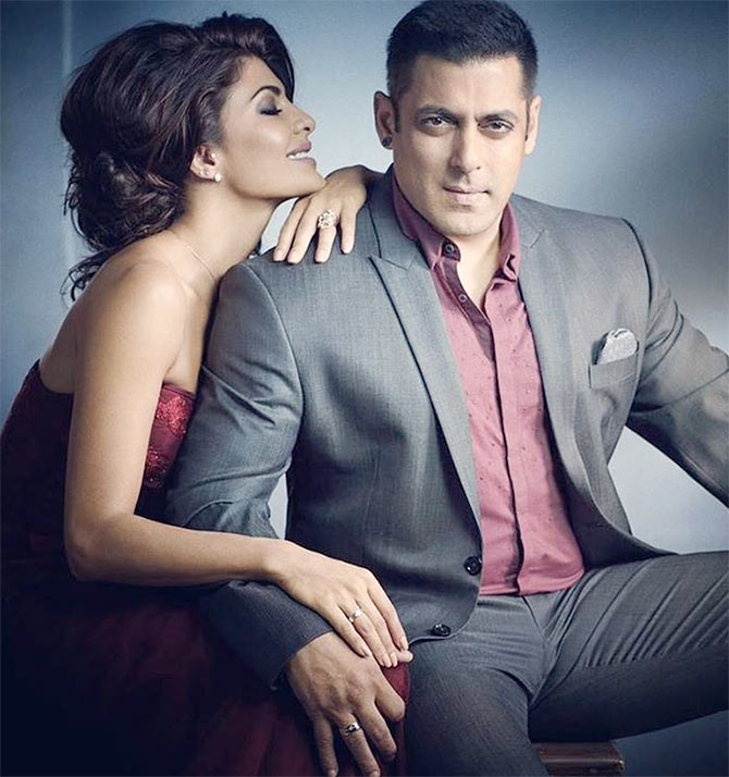 Current Bollywood News & Movies - Indian Movie Reviews, Hindi Music & Gossip - PIX: Salman-Jacqueline's sizzling photoshoot