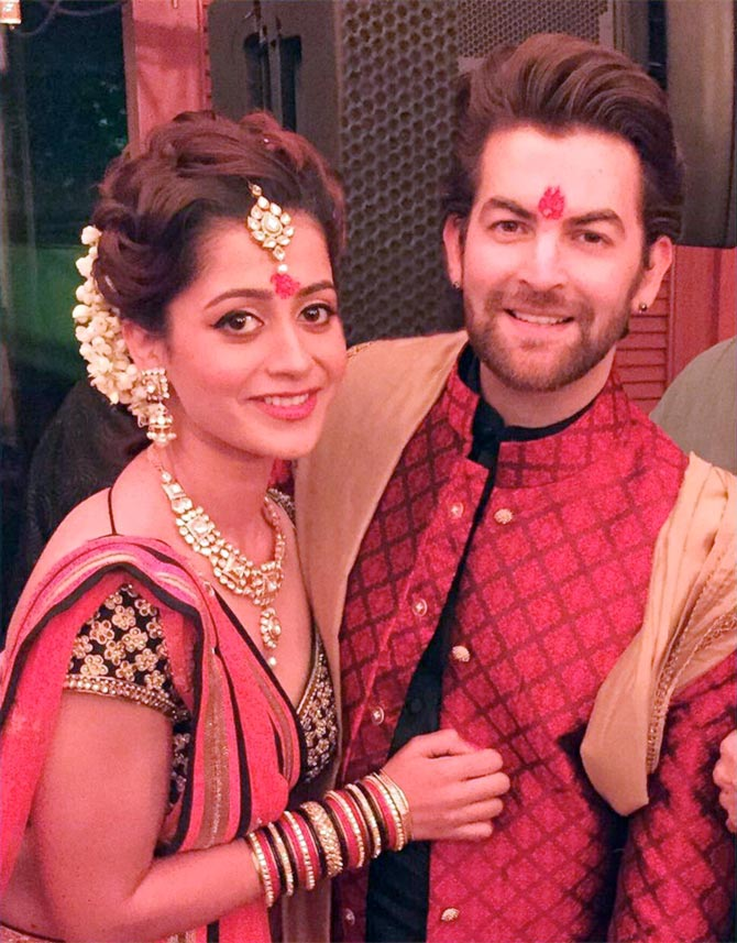 Current Bollywood News & Movies - Indian Movie Reviews, Hindi Music & Gossip - PIX: Neil Nitin Mukesh gets engaged