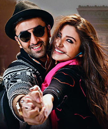Ranbir Kapoor and Anushka Sharma in Ae Dil Hai Mushkil