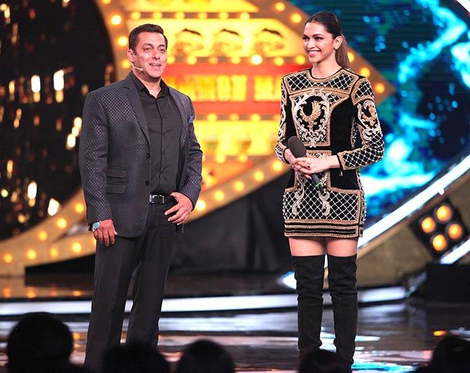 Salman Khan, Deepika Padukone