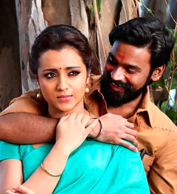 Trisha and Dhanush in Kodi