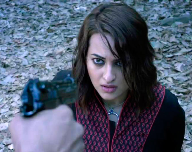 Box Office: Sonakshi's Akira flops - Rediff.com Movies