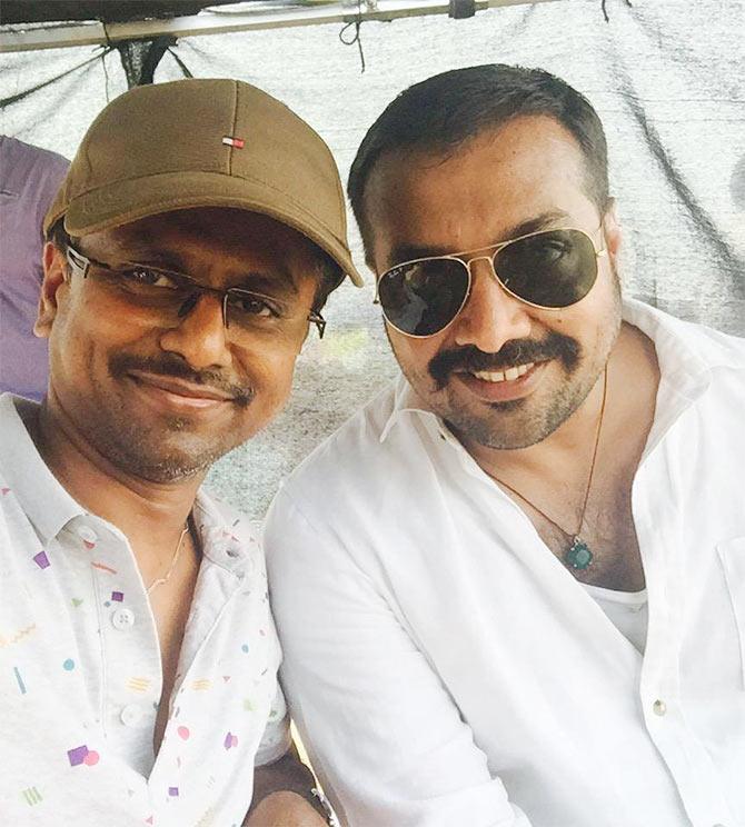 AR Murugadoss and Anurag Kashyap