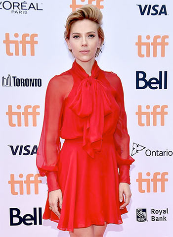 PIX: Scarlett, Amy, Mira Nair on the red carpet at TIFF 2016