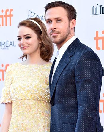 PIX: Emma Stone, Ryan Gosling walk the red carpet at TIFF