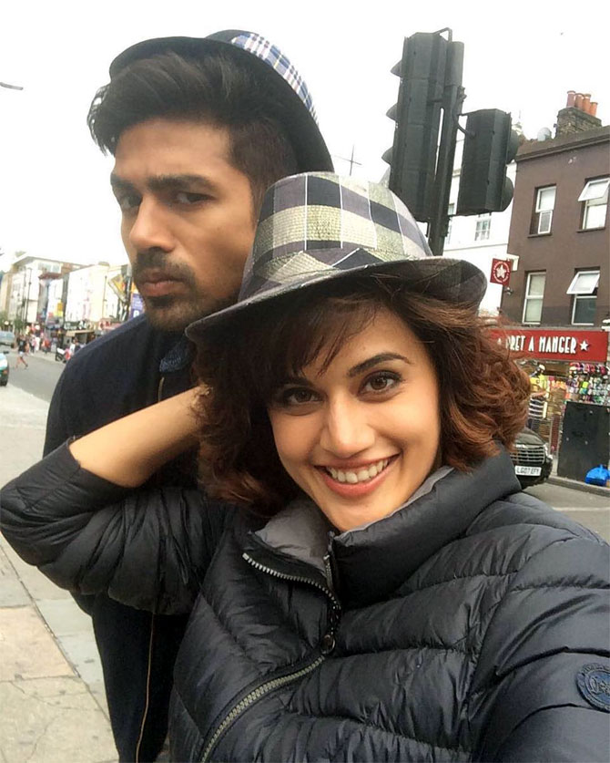 Saqib Saleem and Taapsee Pannu