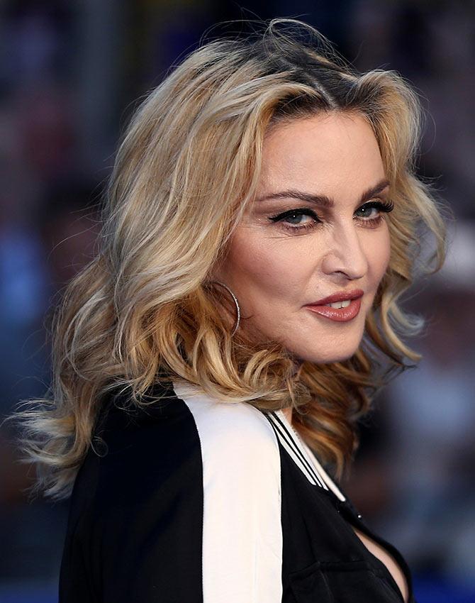 PIX: Madonna mingles with Ringo Starr, Paul McCartney