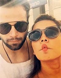 Current Bollywood News & Movies - Indian Movie Reviews, Hindi Music & Gossip - PIX: TV couple Asha Negi, Ritvik Dhanjani holiday in Switzerland