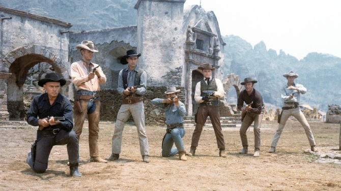 The 1960 film, The Magnificent Seven