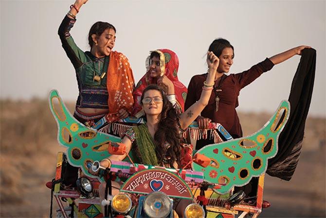 Radhika Apte, Tannishtha Chatterjee and Surveen Chawla