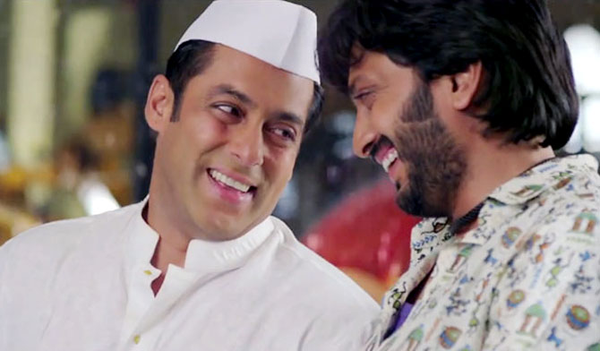 Salman Khan and Riteish Deshmukh