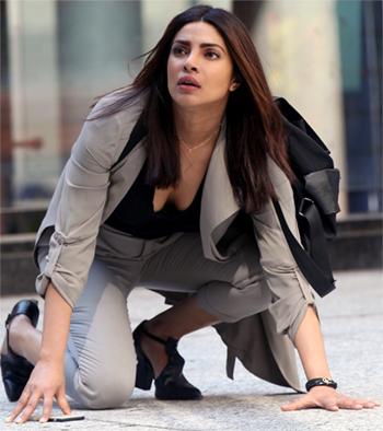 Current Bollywood News & Movies - Indian Movie Reviews, Hindi Music & Gossip - Quantico 2: Priyanka is back with a BANG!
