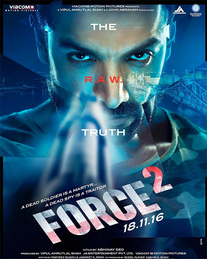 Current Bollywood News & Movies - Indian Movie Reviews, Hindi Music & Gossip - Like the poster of Force 2?