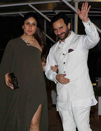Current Bollywood News & Movies - Indian Movie Reviews, Hindi Music & Gossip - PIX: Kareena-Saif party with Amitabh Bachchan, Sridevi