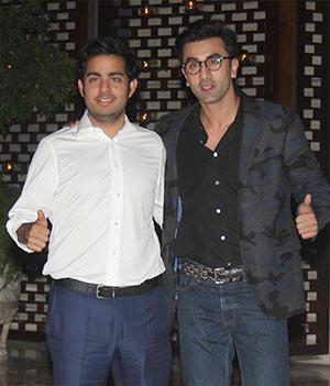 Current Bollywood News & Movies - Indian Movie Reviews, Hindi Music & Gossip - PIX: Ranbir, Abhishek, John meet the Ambanis