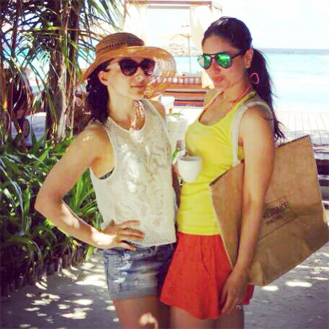 Soha Ali Khan and Kareena