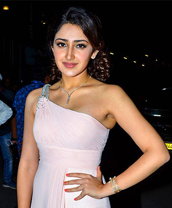 Current Bollywood News & Movies - Indian Movie Reviews, Hindi Music & Gossip - PIX: Sayyeshaa, Shriya, Hansika at Apsara Awards