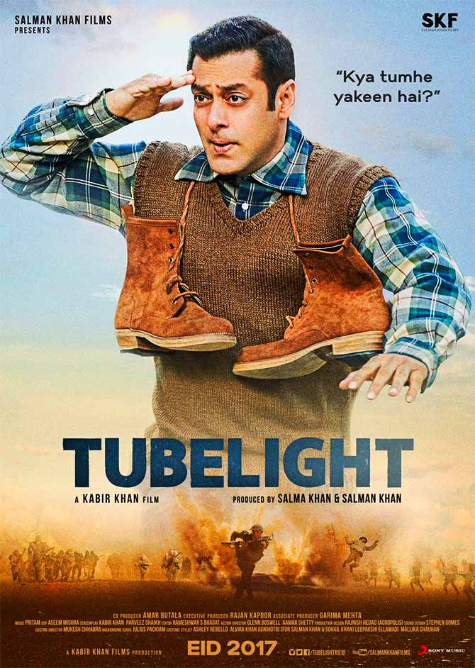 Current Bollywood News & Movies - Indian Movie Reviews, Hindi Music & Gossip - Like Salman's Tubelight poster? Vote!