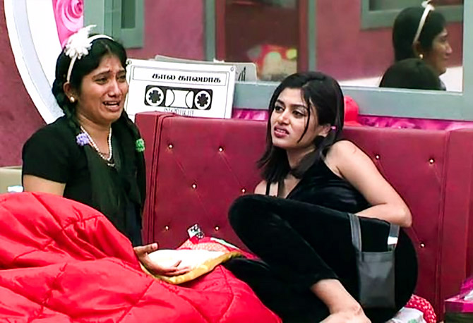 Oviya and Julie