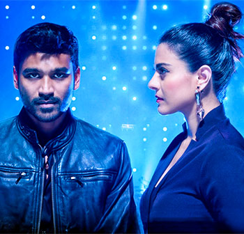 Kajol and Dhanush in VIP 2