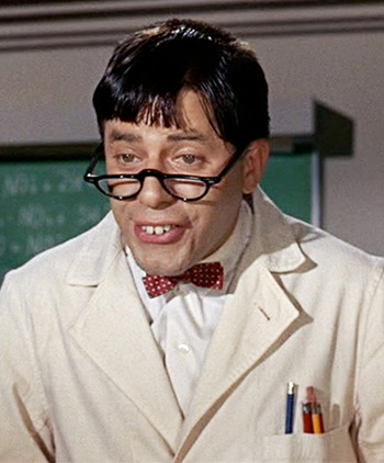 Jerry Lewis in Nutty Professor