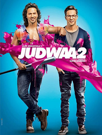Current Bollywood News & Movies - Indian Movie Reviews, Hindi Music & Gossip - Judwaa 2 trailer: Can Varun outdo Salman?