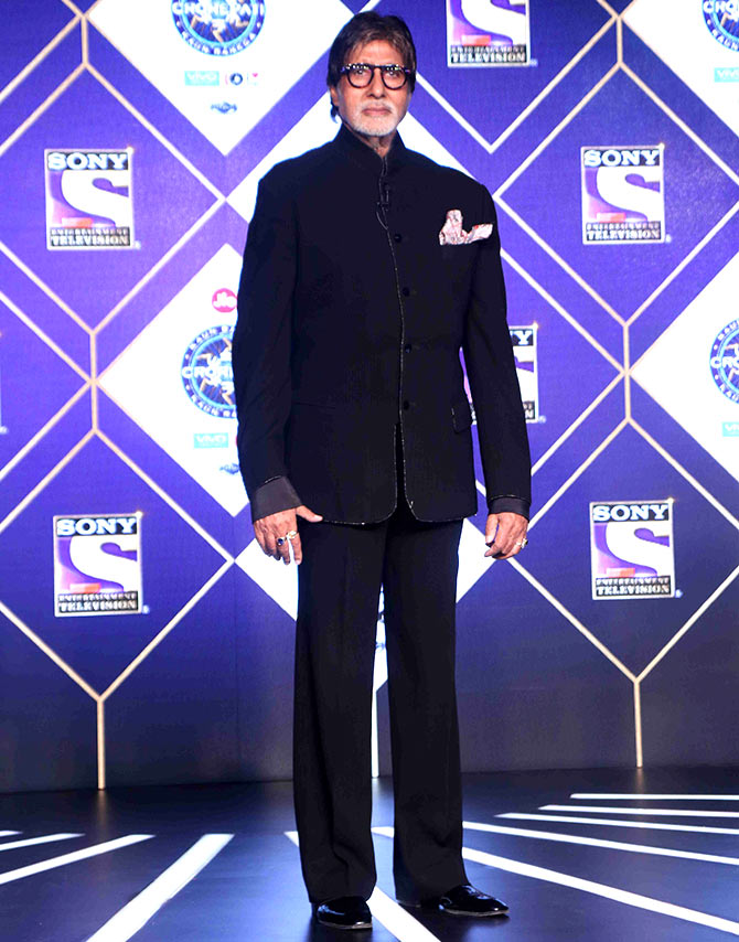What Amitabh won't allow in KBC 9! - Rediff com movies