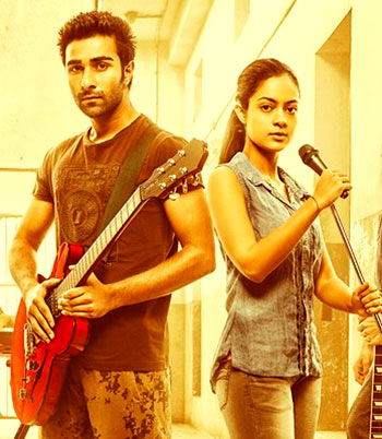 Aadar Jain and Anya Singh in Qaidi Band