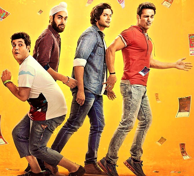 Current Bollywood News & Movies - Indian Movie Reviews, Hindi Music & Gossip - Fukrey Returns Review: A silly endeavour to milk a fluke