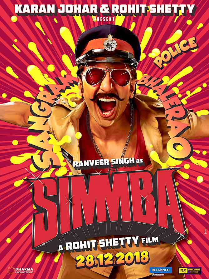 Simmba 2018 Hindi HDCAMRip 700MB MKV