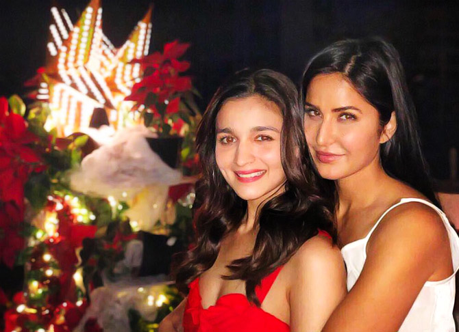 the stars celebrate christmas and how rediffcom movies