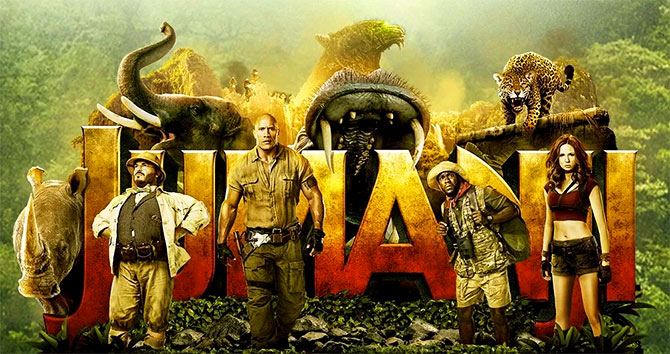 Current Bollywood News & Movies - Indian Movie Reviews, Hindi Music & Gossip - Review: Jumanji 2 is FUN!
