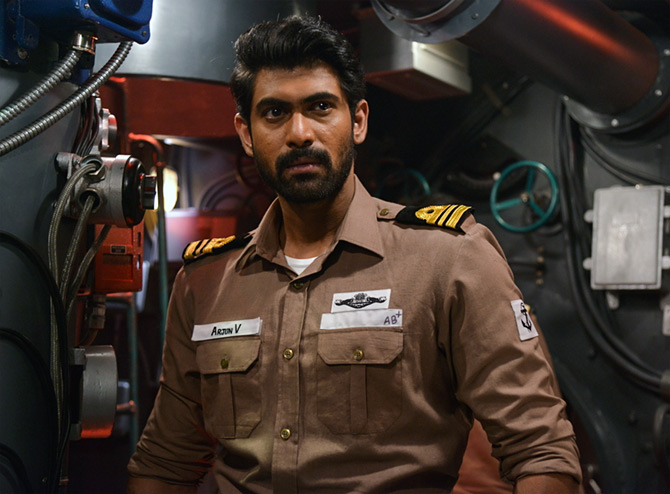 Rana Daggubati in The Ghazi Attack.
