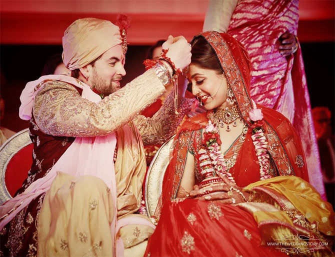 Neil Nitin Mukesh was the latest Bollywood star to get hitched