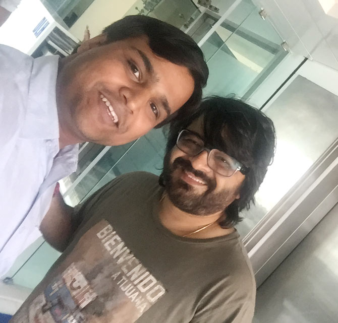 Current Bollywood News & Movies - Indian Movie Reviews, Hindi Music & Gossip - Spotted: Composer Pritam in Mumbai