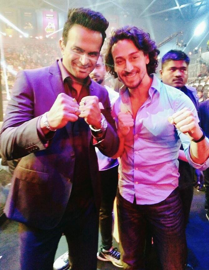 Current Bollywood News & Movies - Indian Movie Reviews, Hindi Music & Gossip - When Siddharth Kannan challenged Tiger Shroff