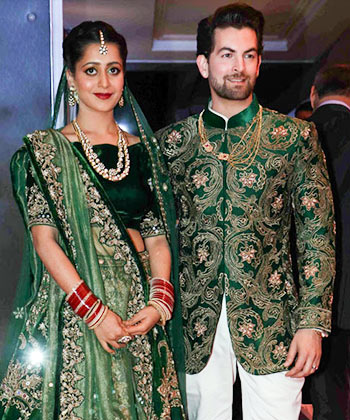 Current Bollywood News & Movies - Indian Movie Reviews, Hindi Music & Gossip - PIX: Salman, Katrina, Big B, Rekha attend Neil Nitin Mukesh's reception