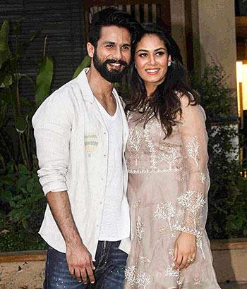 Current Bollywood News & Movies - Indian Movie Reviews, Hindi Music & Gossip - PIX: Deepika, Ranveer, Katrina party with Shahid