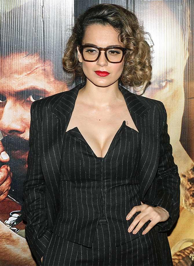 Current Bollywood News & Movies - Indian Movie Reviews, Hindi Music & Gossip - PIX: Kangana watches Rangoon