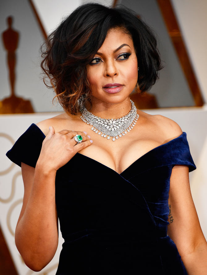 Oscars 2017: Taraji P Henson, Charlize Theron walk the red carpet