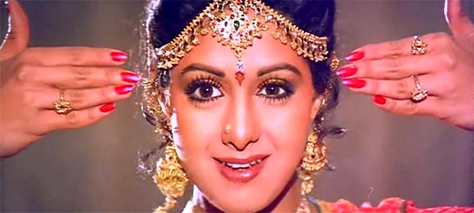 Image result for sri devi in chandani