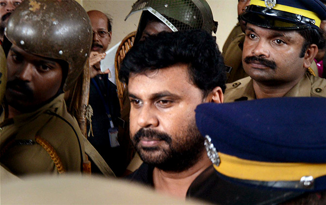 The accused: Dileep