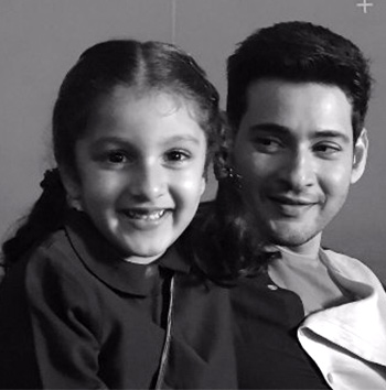 Current Bollywood News & Movies - Indian Movie Reviews, Hindi Music & Gossip - PIX: Mahesh Babu's daughter turns 5!