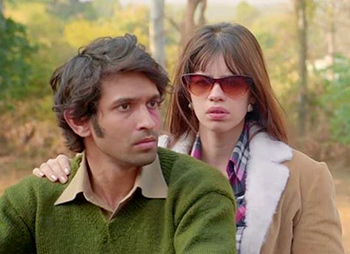 Vikrant Massey and Kalki Koechlin in A Death in the Gunj