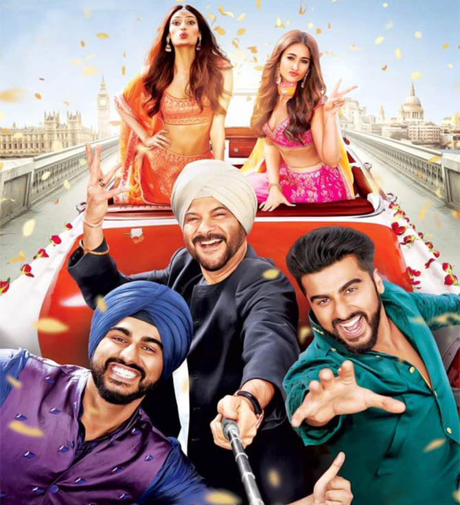 Current Bollywood News & Movies - Indian Movie Reviews, Hindi Music & Gossip - Mubarakan trailer review: Anil Kapoor rocks