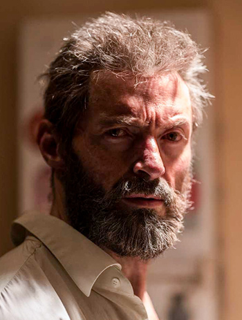 Hugh Jackman in and as Logan